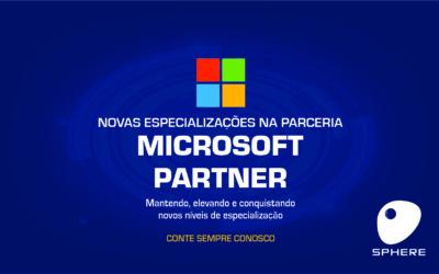 A Sphere conquista um novo nível de parceria com a Microsoft!